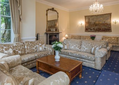 Colehayes Park - Manor House - Living Room