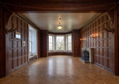 Colehayes Park - Manor House - Oak Panelled Front Hall